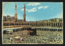 Saudi Arabia Picture Postcard Tawaf Around Holy Mosque Ka'aba Macca View Card - Saudi Arabia