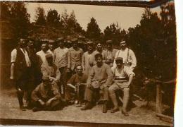 PHOTO ORIGINALE  SOLDATS PREMIERE GUERRE MONDIALE - Guerre, Militaire