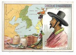 CHROMO - CHOCOLAT D'AIGUEBELLE - Coréen - Aiguebelle