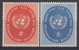 UNITED NATIONS New York 70-71,unused - New York - Sede De La Organización De Las NU