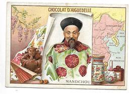 CHROMO - CHOCOLAT D'AIGUEBELLE - Mandchou - Aiguebelle