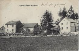ESMOULIERES - école Des Garçons - RARE Commune De Faucogney - Andere Gemeenten