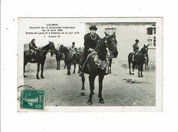 Cpa CHABRIS Souvenir De La Fcavalcade Historique 18 Avril 1909 Entré De Louis XI à Chabris N°1 - Andere Gemeenten