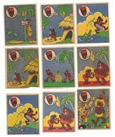 CHROMO - BANANIA - Lot De 9 Chromos - Banania