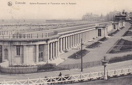 CPA Ostende - Galerie-Promenoir Et Panorama Vers Le Kursaal - Feldpost Kaiserliche Marine - 1916 (34815) - Oostende