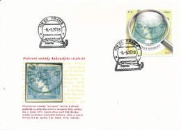 Czech Rep. / My Own Stamps (2018) 0787 FDC: The World Of Philately - Postage Stamps Of The Austrian Empire (1851) - Timbres Sur Timbres