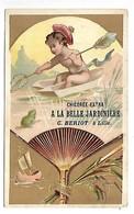 CHROMO - A LA BELLE JARDINIERE - C. BERIOT à LILLE - Enfant - Tea & Coffee Manufacturers