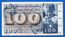 100  Fr  Du  2/4/1964 - Switzerland