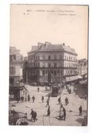 Chemin De Fer Tram Tramway Amiens 80 Somme Place Gambetta - Tramways