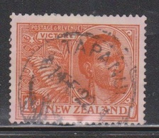 NEW ZEALAND Scott # 167 Used - WWI Victory Issue Nice CDS - 1855-1907 Crown Colony