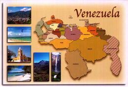 VENEZUELA, MAPA DO PAIS  [45409] - Venezuela