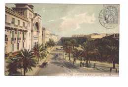 Tunisie Tunis Cathedrale Et Avenue Jules Ferry - Tunisie