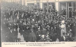 BRUXELLES - Funérailles De S.A.R. Mme La Comtesse De Flandre, 30 Nov 1912 - Le Corps Diplomatique - Fêtes, événements