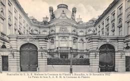 BRUXELLES - Funérailles De S.A.R. Mme La Comtesse De Flandre, 30 Nov 1912 - Le Palais De La Feue S.A.R.M. La Comtesse - Fêtes, événements
