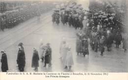 BRUXELLES - Funérailles De S.A.R. Mme La Comtesse De Flandre, 30 Nov 1912 - Les Princes étrangers - Feesten En Evenementen