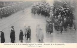 BRUXELLES - Funérailles De S.A.R. Mme La Comtesse De Flandre, 30 Nov 1912 - Les Princes étrangers - Fêtes, événements