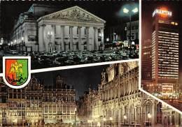 CPM - Souvenir De BRUXELLES - Brussel Bij Nacht