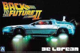 Back To The Future II De Lorean 1/24 ( Aoshima ) - Cars
