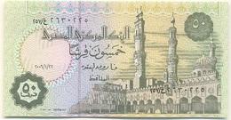 Egipto - Egypt 50 Piastres 22-1-2006 Pick 62.9 UNC - Egipto