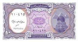 Egipto - Egypt 10 Piastres 1999 Pick 189b.2 UNC - Egipto
