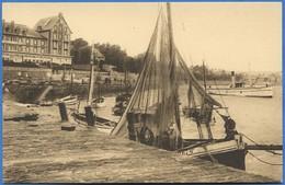 50 - CARTERET - Le Joyau Du Cotentin - Le Port à Marée Haute. A Gauche, Hôtel De La Mer - Carteret
