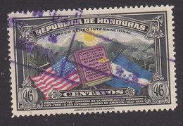 Honduras, Scott #C84, Used, Flags Of US And Honduras, Issued 1937 - Honduras