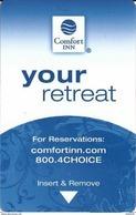 Comfort Inn Hotel Room Key Card - Hotel Keycards