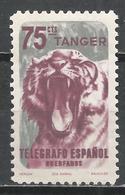 Tangier. #F (M) Telegrafo, Lion * - Télégraphe