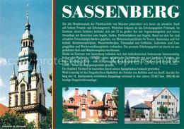 73231571 Sassenberg_Westfalen Kirchturm St. Johannes Haus Schuecking  Sassenberg - Duitsland