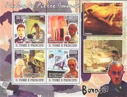 SAO TOME & PRINCIPE 2008. ART. PAINTING NUDES. BONNARD.  SHEET. . MNH. - Arte