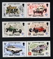 GB ISLE OF MAN IOM - 1985 MOTORING SET (6V) IN HORIZONTAL PAIRS FINE MNH ** SG 290a, 292a, 294a - Isle Of Man