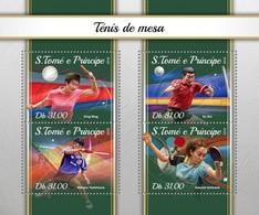 São Tomé E Príncipe 2018     Table Tennis   S201804 - Sao Tome And Principe