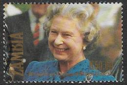 Zambia SG691 1992 40th Anniversary Of Queen Elizabeth II's Accession 50k Good/fine Used [37/30805/2D] - Zambia (1965-...)