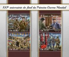 São Tomé E Príncipe 2018    World War I S201804 - Sao Tome And Principe
