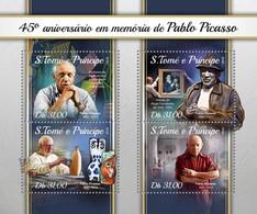 São Tomé E Príncipe 2018   Pablo Picasso  S201804 - Sao Tome And Principe