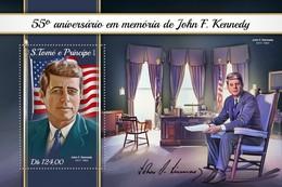 São Tomé E Príncipe 2018  John F. Kennedy  S201804 - Sao Tome And Principe
