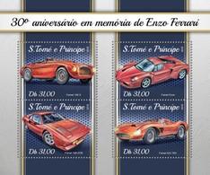 São Tomé E Príncipe 2018    Enzo Ferrari S201804 - Sao Tome And Principe