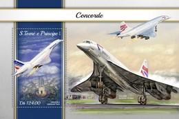 São Tomé E Príncipe 2018   Concorde  S201804 - Sao Tome And Principe