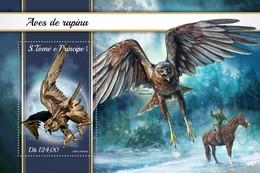 São Tomé E Príncipe 2018     Birds Of Prey S201804 - Sao Tome And Principe