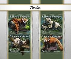 São Tomé E Príncipe 2018    Pandas  S201804 - Sao Tome And Principe