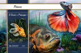 São Tomé E Príncipe 2018   Fishes  S201804 - Sao Tome And Principe