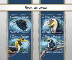 São Tomé E Príncipe 2018  Birds  Hornbills  S201804 - Sao Tome And Principe