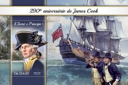São Tomé E Príncipe 2018  James Cook  S201804 - Sao Tome And Principe