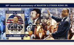 Sierra Leone 2018  Martin Luther King Jr  S201804 - Sierra Leone (1961-...)