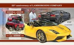 Sierra Leone 2018  Cars  Lamborghini Company S201804 - Sierra Leone (1961-...)