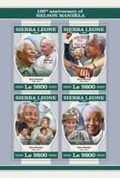 Sierra Leone 2018   Nelson Mandela  S201804 - Sierra Leone (1961-...)