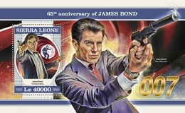 Sierra Leone 2018    James Bond  S201804 - Sierra Leone (1961-...)