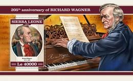 Sierra Leone 2018 Music  Richard Wagner  S201804 - Sierra Leone (1961-...)