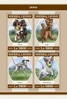 Sierra Leone 2018 Dogs  S201804 - Sierra Leone (1961-...)