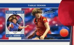 Sierra Leone 2018  Table Tennis S201804 - Sierra Leone (1961-...)